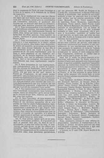 Tome 6 : 1789 – États généraux. Cahiers des sénéchaussées et baillages [Toul - Vitry-le-François] - page 236