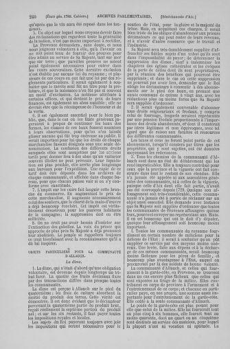Tome 6 : 1789 – États généraux. Cahiers des sénéchaussées et baillages [Toul - Vitry-le-François] - page 240