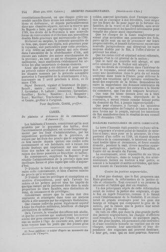 Tome 6 : 1789 – États généraux. Cahiers des sénéchaussées et baillages [Toul - Vitry-le-François] - page 244
