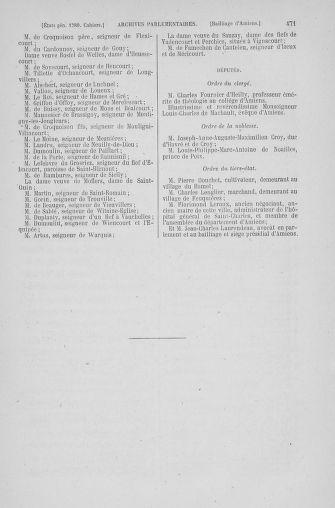 Tome 6 : 1789 – États généraux. Cahiers des sénéchaussées et baillages [Toul - Vitry-le-François] - page 471