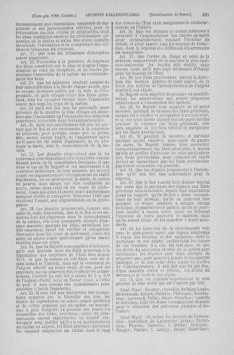 Tome 6 : 1789 – États généraux. Cahiers des sénéchaussées et baillages [Toul - Vitry-le-François] - page 495