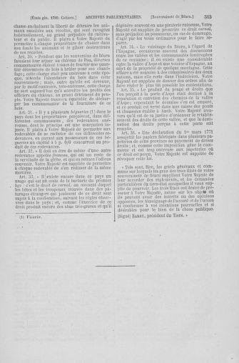 Tome 6 : 1789 – États généraux. Cahiers des sénéchaussées et baillages [Toul - Vitry-le-François] - page 503