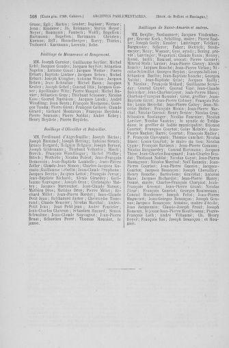 Tome 6 : 1789 – États généraux. Cahiers des sénéchaussées et baillages [Toul - Vitry-le-François] - page 508