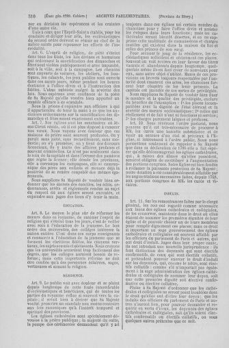 Tome 6 : 1789 – États généraux. Cahiers des sénéchaussées et baillages [Toul - Vitry-le-François] - page 510