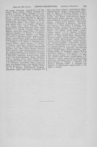 Tome 6 : 1789 – États généraux. Cahiers des sénéchaussées et baillages [Toul - Vitry-le-François] - page 519
