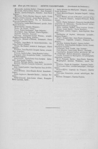 Tome 6 : 1789 – États généraux. Cahiers des sénéchaussées et baillages [Toul - Vitry-le-François] - page 542