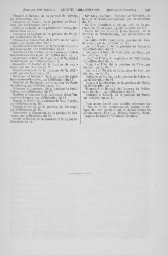 Tome 6 : 1789 – États généraux. Cahiers des sénéchaussées et baillages [Toul - Vitry-le-François] - page 559