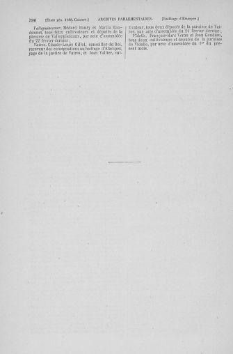Tome 6 : 1789 – États généraux. Cahiers des sénéchaussées et baillages [Toul - Vitry-le-François] - page 596