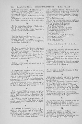 Tome 6 : 1789 – États généraux. Cahiers des sénéchaussées et baillages [Toul - Vitry-le-François] - page 606