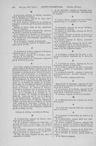 Tome 6 : 1789 – États généraux. Cahiers des sénéchaussées et baillages [Toul - Vitry-le-François] - page 610