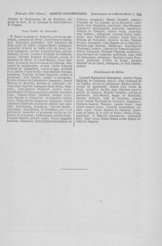 Tome 6 : 1789 – États généraux. Cahiers des sénéchaussées et baillages [Toul - Vitry-le-François] - page 643