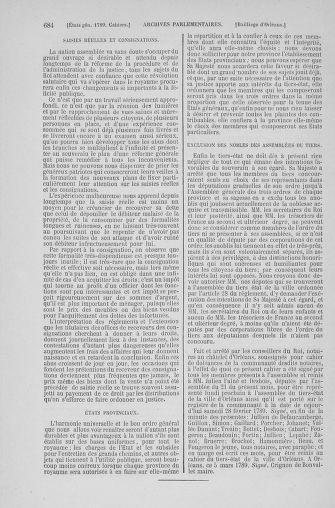 Tome 6 : 1789 – États généraux. Cahiers des sénéchaussées et baillages [Toul - Vitry-le-François] - page 684