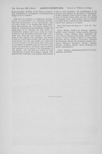 Tome 6 : 1789 – États généraux. Cahiers des sénéchaussées et baillages [Toul - Vitry-le-François] - page 714