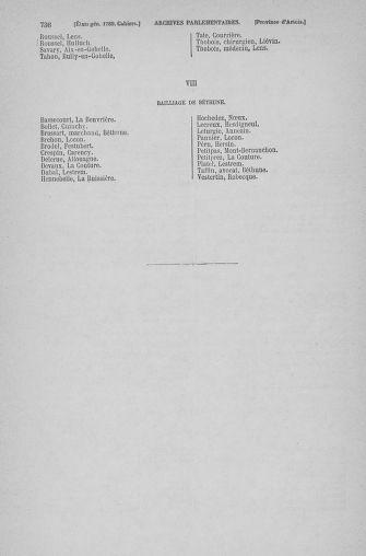 Tome 6 : 1789 – États généraux. Cahiers des sénéchaussées et baillages [Toul - Vitry-le-François] - page 736