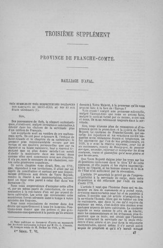 Tome 6 : 1789 – États généraux. Cahiers des sénéchaussées et baillages [Toul - Vitry-le-François] - page 737