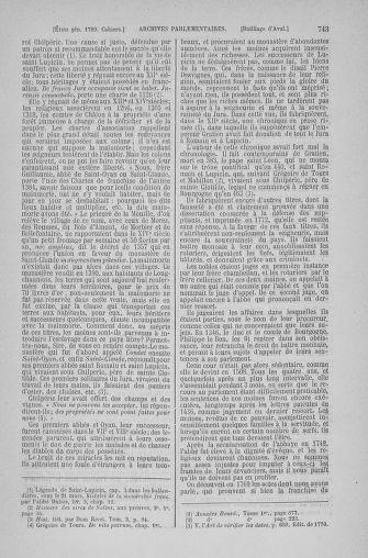 Tome 6 : 1789 – États généraux. Cahiers des sénéchaussées et baillages [Toul - Vitry-le-François] - page 743