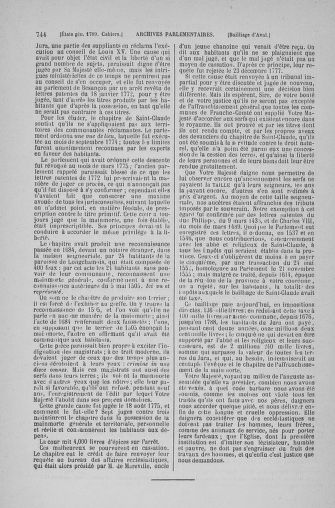 Tome 6 : 1789 – États généraux. Cahiers des sénéchaussées et baillages [Toul - Vitry-le-François] - page 744