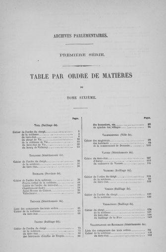 Tome 6 : 1789 – États généraux. Cahiers des sénéchaussées et baillages [Toul - Vitry-le-François] - page 763