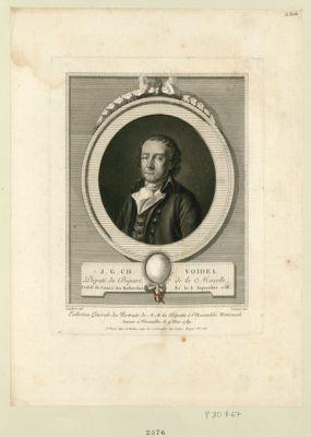 J. <em>G</em>. Ch. Voidel député du départ. de la Moselle presid.t du comité des recherches,né le 8 septembre 1758 : [estampe]