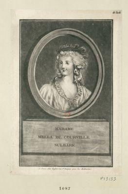 Madame Mella de Courville Sulbark [estampe]