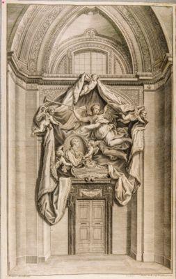 Chiesa di S. Giovanni in Laterano. Monumento a Luigi XV