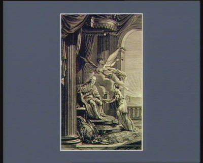 [Couronnement allégorique de Léopold deux, empereur d'Allemagne] [estampe]