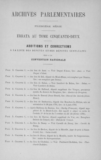 Tome 53 : Du 27 octobre au 30 novembre 1792 - page 1