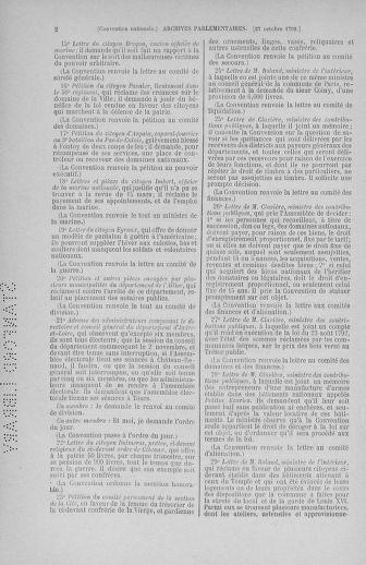 Tome 53 : Du 27 octobre au 30 novembre 1792 - page 2