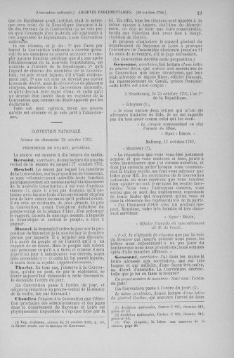 Tome 53 : Du 27 octobre au 30 novembre 1792 - page 19