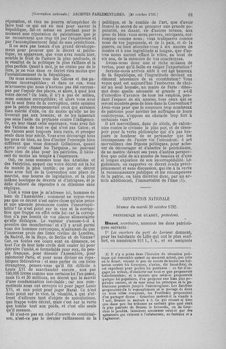 Tome 53 : Du 27 octobre au 30 novembre 1792 - page 61
