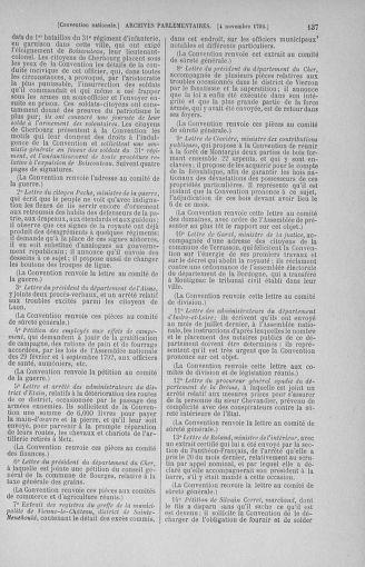 Tome 53 : Du 27 octobre au 30 novembre 1792 - page 137