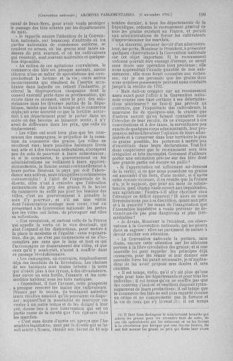 Tome 53 : Du 27 octobre au 30 novembre 1792 - page 199