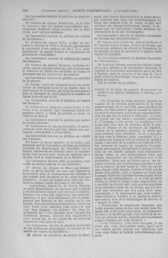 Tome 53 : Du 27 octobre au 30 novembre 1792 - page 320