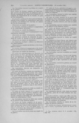 Tome 53 : Du 27 octobre au 30 novembre 1792 - page 338