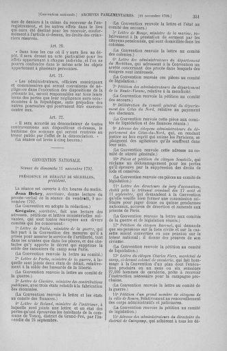 Tome 53 : Du 27 octobre au 30 novembre 1792 - page 351