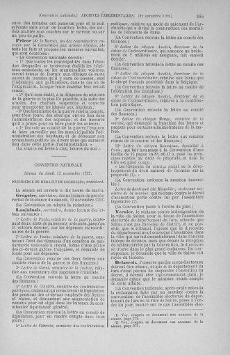 Tome 53 : Du 27 octobre au 30 novembre 1792 - page 365