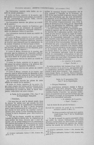 Tome 53 : Du 27 octobre au 30 novembre 1792 - page 377