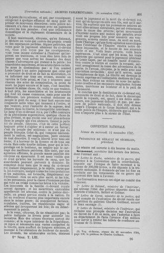 Tome 53 : Du 27 octobre au 30 novembre 1792 - page 401