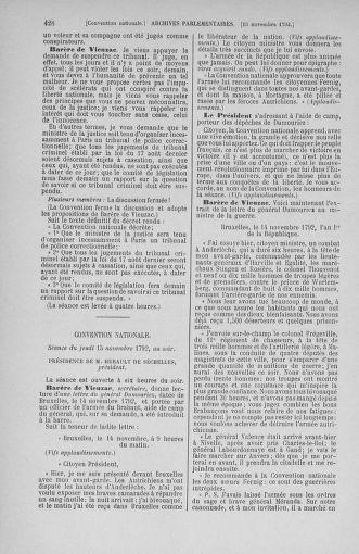 Tome 53 : Du 27 octobre au 30 novembre 1792 - page 428