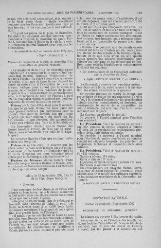 Tome 53 : Du 27 octobre au 30 novembre 1792 - page 429