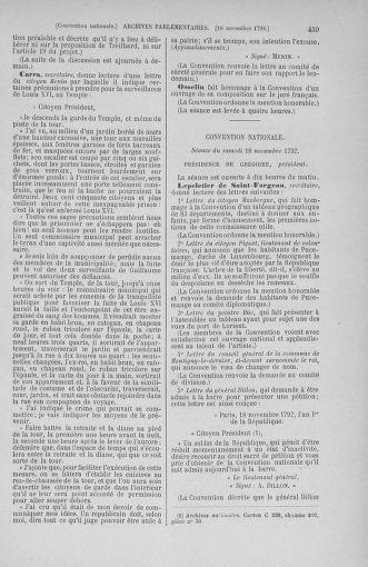 Tome 53 : Du 27 octobre au 30 novembre 1792 - page 459