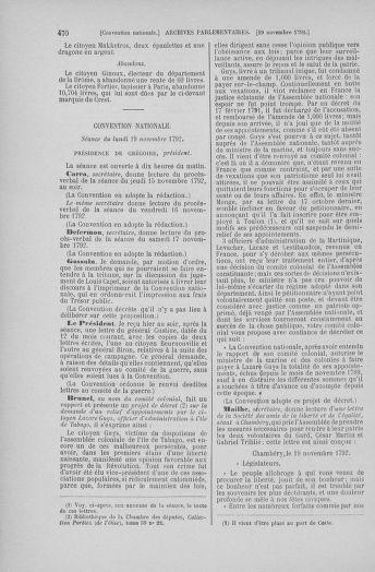 Tome 53 : Du 27 octobre au 30 novembre 1792 - page 470