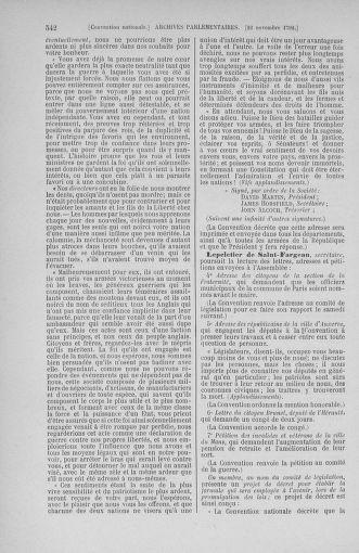 Tome 53 : Du 27 octobre au 30 novembre 1792 - page 542