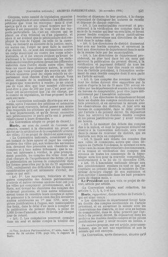 Tome 53 : Du 27 octobre au 30 novembre 1792 - page 557