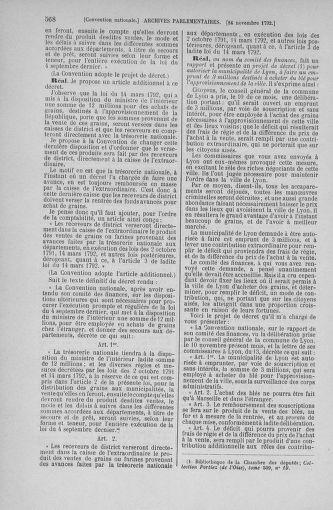 Tome 53 : Du 27 octobre au 30 novembre 1792 - page 568