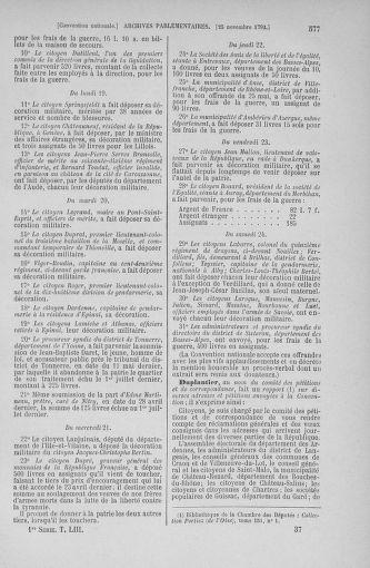Tome 53 : Du 27 octobre au 30 novembre 1792 - page 577