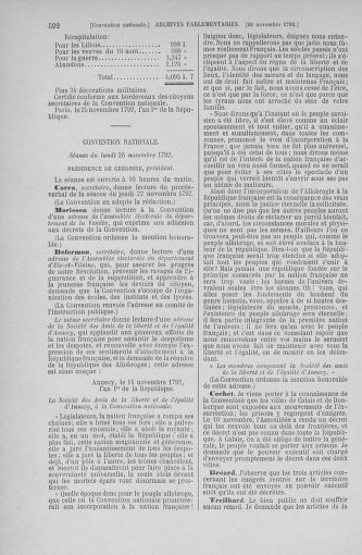 Tome 53 : Du 27 octobre au 30 novembre 1792 - page 592
