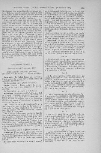 Tome 53 : Du 27 octobre au 30 novembre 1792 - page 605