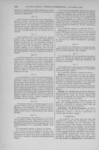 Tome 53 : Du 27 octobre au 30 novembre 1792 - page 606