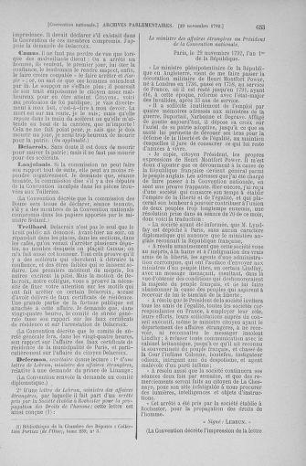 Tome 53 : Du 27 octobre au 30 novembre 1792 - page 653
